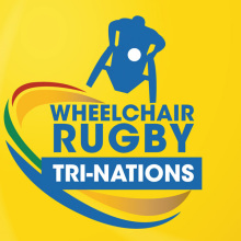 Having already developed strong graphic design artwork for The Australian Paralympic Committee across a number of platforms including, print, exhibition signage and online brochures JMR was commissioned to produce graphics for the Wheelchair Rugby Tri-Nations logo.