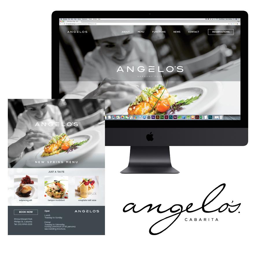 angelos branding