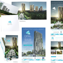 JMR has designed all the branding for the latest residential tower 'Opal Towers' at Sydney Olympic Park. Initial concepts were created for the logo / brand and once approved were rolled out across a large range of collateral. JMR produced Signage, Advertising (Print & Online), DLX Brochures, Website, Tower Prospectus, EDM's, Mapping, Lightboxes & Floor Plans.