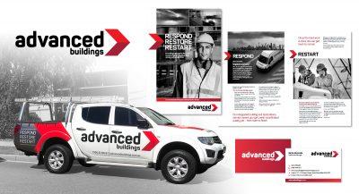 Advanced Buildings branding