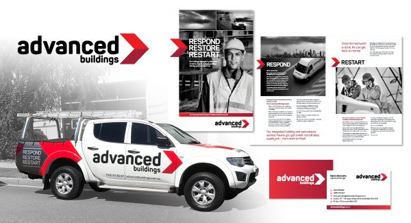 Advanced Buildings branding