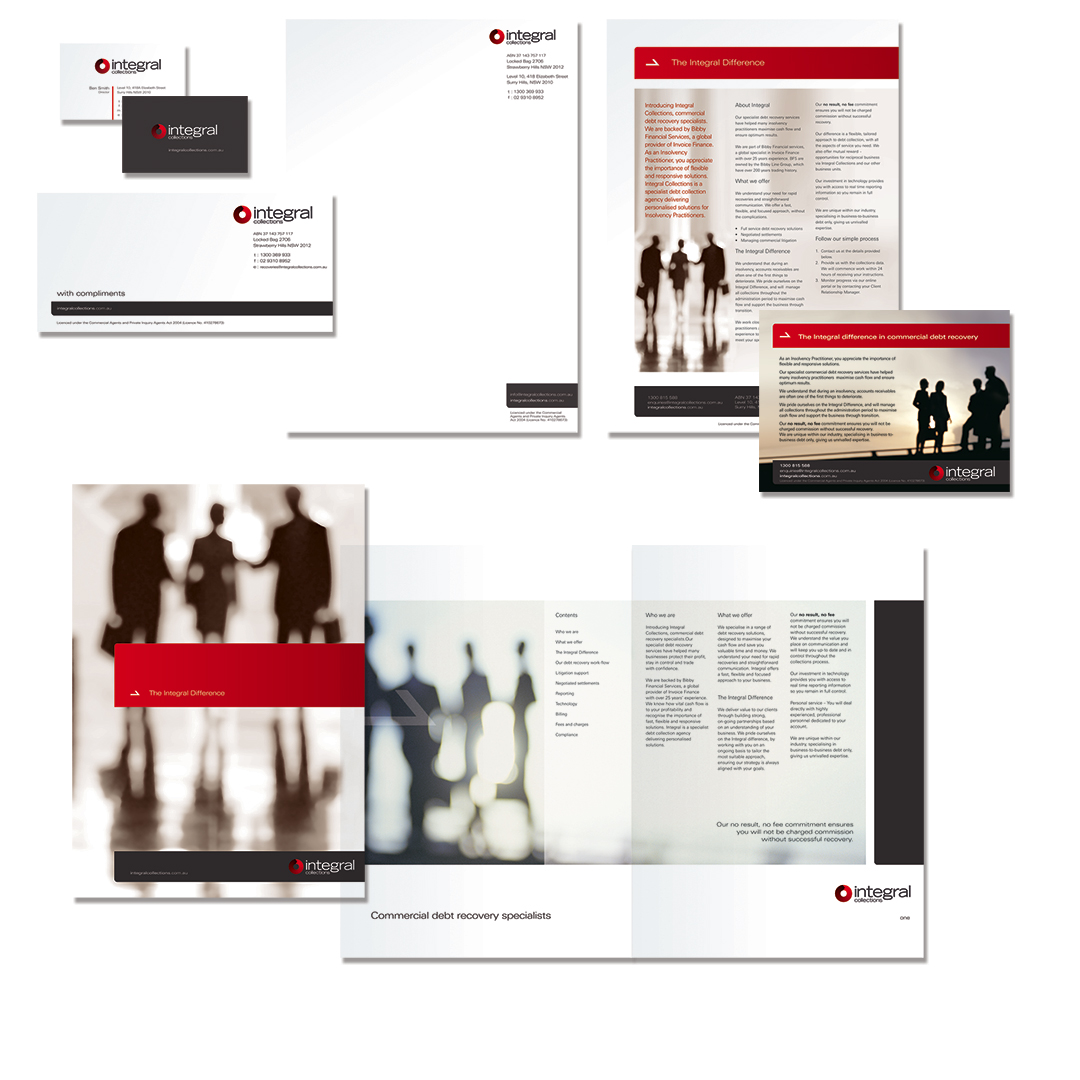 Integral Collections, branding, finance